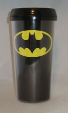 Thermo BATMAN Mug Travel Closeable Lid Top Spout Black 18 oz DC Comics New
