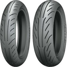 Michelin Power Pure SC Scooter Bias Front & Rear Tire Set 110/70-12 & 140/70-12