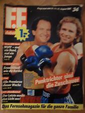 FF DABEI 34 - Programm 24.-30.8. 1991 Valérie Kaprisky Fred Frohberg Vanilla Ice