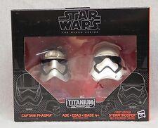 Star Wars Black Series Metal Helmets - Captain Phasma -Stormtrooper - Wave 1