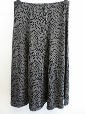Essential Collection Gored Jacquard Jersey Skirt Length 29in UK 12 Box1439 d