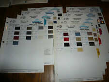 1980 81 82 83 84 85 86 87 88 Subaru DuPont Refinish Color Chip Paint Sample