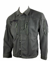 Austrian BLACK DYED Vintage F2 Ex Army Shirt Jacket Surplus G1