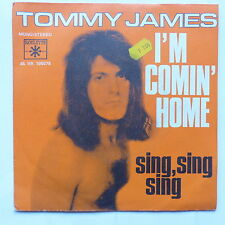 tommy james I'm comin home  45 vr 195078