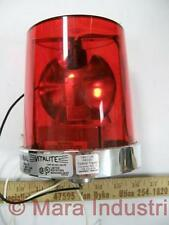 Federal Signal 121S120R Division 121S-120R Red Warning Light
