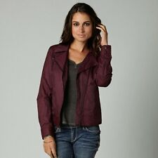 Fox Racing Haze Bomber Women's Jacket In Bordeaux Color Size XL