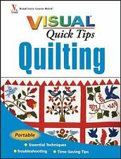 Quilting VISUAL Quick Tips (Teach Yourself VISUALLY Consumer)-ExLibrary