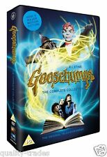 ❏ Goosebumps Series 1 - 4 DVD Complete Collections Seasons ❏ R.L. Stine 1 2 3 4