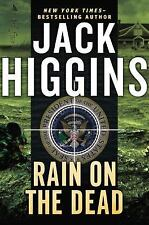 Rain on the Dead by Jack Higgins (2014, Hardcover)
