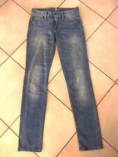"FOR ALL MANKIND - JEAN ""Roxanne "" SLIM - BLEU - TAILLE 35fr"