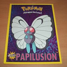 CP CARTE POSTALE POKEMON #12 PAPILUSION BUTTERFREE CARD NEUVE - NEW
