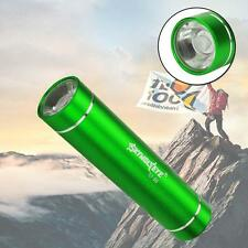 CREE XM-L XPE LED 1AA Flashlight Torch 1200 Lumens Aluminum For Outdoor Green AD