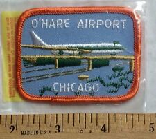 NIP Chicago O'hare Airport ORD Souvenir Patch Badge by Lion