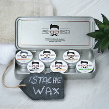 Mo Bro's - Moustache Wax Collection Gift Set 15ml x 6Mustache Tash Wax Grooming