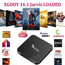XGODY NEW TX3PRO 4K Smart Android 6.0 TV BOX S905X KODI 16.1 LOADED Media player