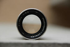objectif  CHALIER   F: 100mm 1:3.5 old lens good condition