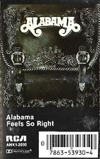 Feels So Right  ALABAMA  [Cassette 1981]  RCA  Three #1 HITS ~ Used
