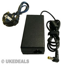 FOR ACER ASPIRE 3810T 4810T 5810T LAPTOP CHARGER PSU + LEAD POWER CORD