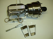1967 1968 1969 camaro chrome brake booster  with disc disc proportioning valve