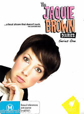 THE JAQUIE BROWN DIARIES Series One DVD All Zone NEW