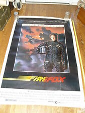 """Large Original Movie Poster - 1982 Firefox Clint Eastwood - 59""""x40"""" 820005"""