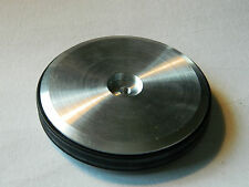 vintage RC PART disque en aluminium ALU modelisme POULIE disc 90mm COURROIE belt