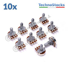 10x Potenziometro 100 Kohm Logaritmico Trimmer - Log. Potentiometer C100K Audio