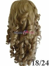 NEW HONEY BLONDE COLOUR LADIES WIG FANCY DRESS TRANSVESTITE CROSSDRESSER SISSY