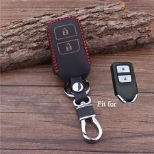High Quality Genuine Leather Car Key Cover Wallet Case for Honda Vezel 2014 2015
