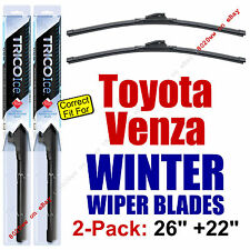 WINTER Wipers 2-Pack Premium Grade - fit 2009-2015 Toyota Venza - 35260/35220