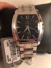 Bulova Quartz Mens Stainless Bracelet Watch 96B112-H11