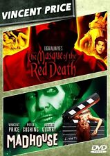 MASQUE OF THE RED DEATH + MADHOUSE New Sealed DVD Vincent Price Double Feature