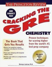 Cracking the GRE Chemistry (Princeton Review Series)