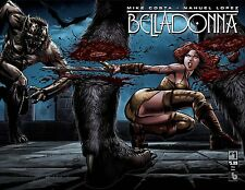 Belladonna #1 Wrap Cover Comic Book 2016 - Boundless Comics