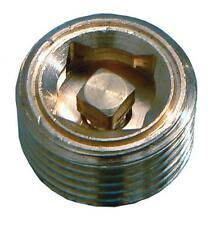 1/2 Inch BSP Manual Air Vent - Brass Bleed Valve For Radiators & Heating Systems
