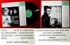 LP Hans Lietzau inszeniert: Seid nett zu Mr. Sloane (DGG 43 071) D 1964