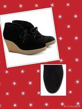 Cole Haan size 7.5B Black Halley Chukka Suede Ankle Lace Boots new