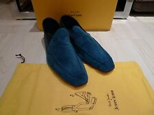 John Lobb x Paul Smith 'Lucca' Suede Slip on Shoes 11 12