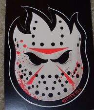 "SPITFIRE JASON MASK Logo Skate Sticker 2.25 X 3"" skateboards helmets decal"