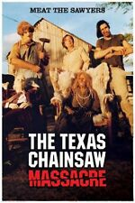 TEXAS CHAINSAW MASSACRE - MOVIE POSTER - 24x36 CLASSIC HORROR SAWYERS 241183