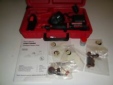 NEW SEARS CRAFTSMAN 572.610880 9.6 VOLT ROTARY TOOL CASE & ACCESSORIES  WORKING
