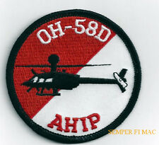 OH-58D KIOWA WARRIOR HAT PATCH US ARMY AVIATOR AHIP PILOT Fort HELICOPTER GIFT