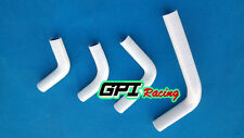 silicone radiator hose FOR HONDA CRF250R 2004-2009/CRF250X 2004-2015 14 white