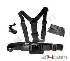 Chest Mount Chesty Harness GoPro 1 2 3 3+ 4 5 Cover Bag Adjustable Strap Belt