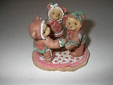 Christmas Cherished Teddies A Special Recipe For Our Friendship Gingerbread 1998