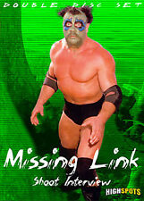 The Missing Link Shoot Interview DVD, WWF NWA AWA WWE