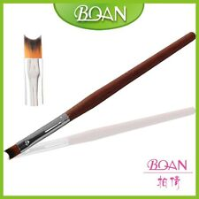 1Pc Factory Direct Newest Rosewood Handle Nail Art French UV Gel Nail Brush 10#