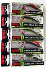 Lot of 5 Superb RAPALA X-Rap XRS-06 Lures Assorted