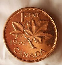 1962 CANADA CENT - Excellent Vintage Coin - BARGAIN BIN #159
