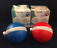 Lot Of 2 Craig Red And Blue Ball Speaker Music Plays All Audio Devices New